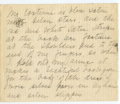 Portion of Corrine Murrah's Letter to her Husband, William F. Murrah, while he was stationed in France, postmarked from Memphis, TN