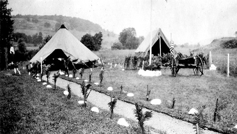 Camp Rendezvous - March 26, 1917