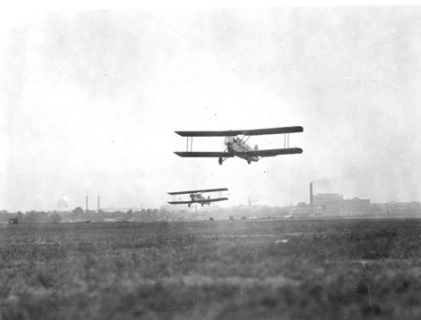 Takeoff at Bolling Field