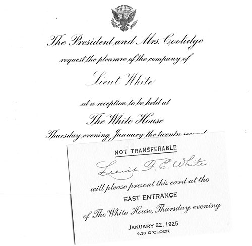 White House invitation