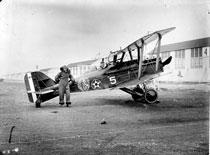 Kelly Field - S.E.5 on Line - Jan 1920 Alt 20,800