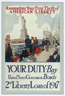 Remember Your First Thrill of American Liberty (Postcard)