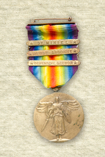 James Victory Medal