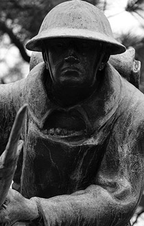 Doughboy Statue in Overton Park (Veterans Plaza) – Memphis