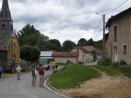 Road in Exermont in 2005