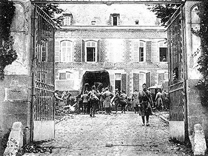 AEF Headquarters Gate in 1918