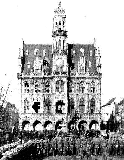 Hotel-de-Ville in 1918