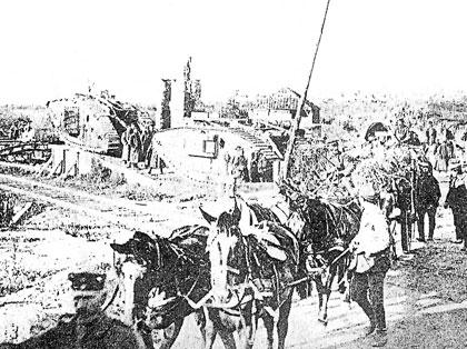 Gouzeaucourt Depot in 1916