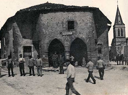 The Old Guard House of Hattonchatel in 1918