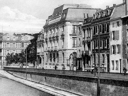 Verdun - Le Quais de la Republique in 1918