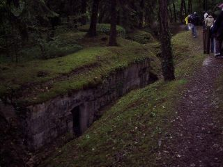 Tranchees des Soif Bunker In Trench