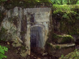 German Bunker In Trench