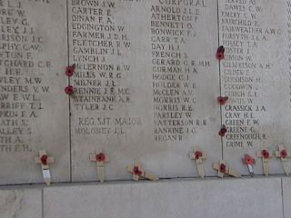 Menin Gate - Soldiers with No Known Grave