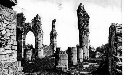 Ruins of Monfaucon, France