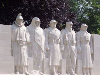 French Monument To The Fallen At Verdun