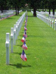 Meuse-Argonne American Cemetery Memorial Day 2007