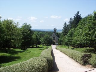 Path To Fleury Chapel