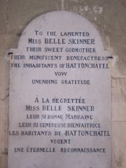 Hattonchattel - Plaque To Miss Skinner