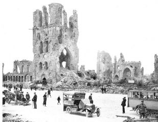 Ypres, Belgium Post-War