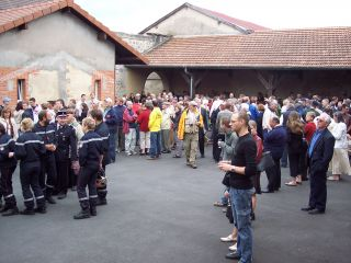 2007 Memorial Day Reception in Romagne