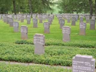 German Cemetery above Sedan