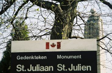 St. Julien Canadian Monument