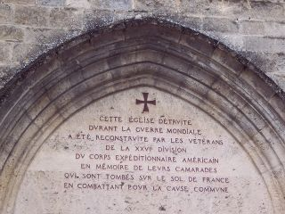Belleau Wood - 26th Div Chapel Doorway