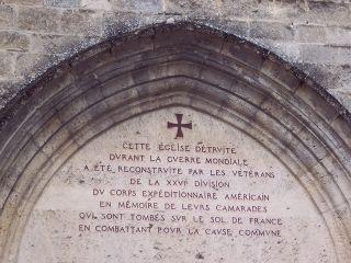 Belleau Wood - 26th Div Chapel Doorway