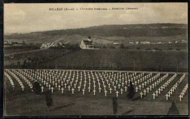 Aisne-Marne American Cemetery - View To Chapel