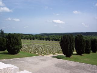 Ossuary Douaumont -View to Cemetery