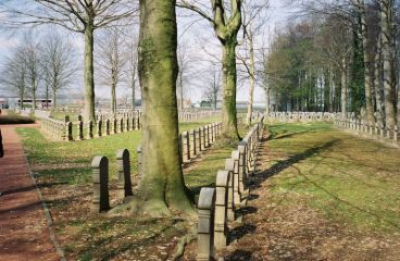 Belgium Military Cemetery in Houthulst Forest